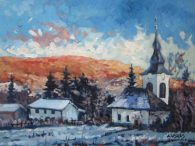 Painting - Last Snow by Andrei Attila Mezei