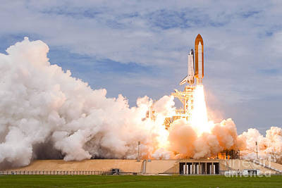Last Space Shutte Launch - 135 Art Print by Chris Cook