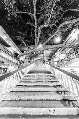 Photograph - Last Stairway Up by Jason Chu