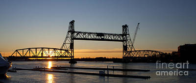 Photograph - Last Sunrise Memorial Bridge by Greg  West