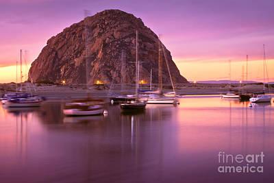 Morro Bay Ca Photograph - Last Sunset by Laura Dienzo