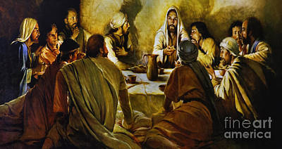 Last Supper Reproduction Art Print by Al Bourassa