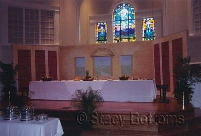 Painting - Last Supper Scenery by Stacy C Bottoms