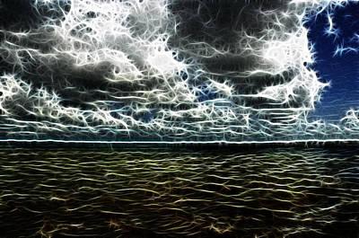 Beach Photograph - Last Winds Of Hurrican Issac  by G Adam Orosco