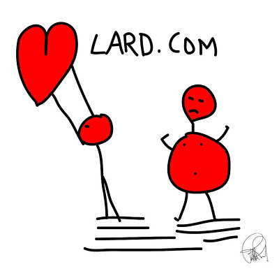 Last X Mas I Gave You My Heart And This Year You Feed Me Lard Art Print