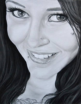 Latasha Art Print by Jessica Tookey