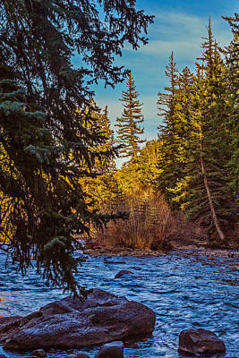 Late Afternoon Along The South Platte Art Print by Mike Schaffner