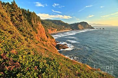Photograph - Late Afternoon At Cape Meares by Adam Jewell