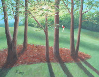 Painting - Late Afternoon At Eagle Ridge by Pamela Poole