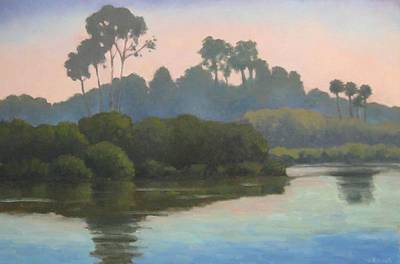 Painting - Late Afternoon At The Bird Refuge by Jennifer Boswell
