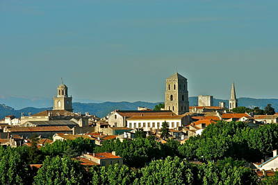 Photograph - Late Afternoon In Arles  by Kirsten Giving