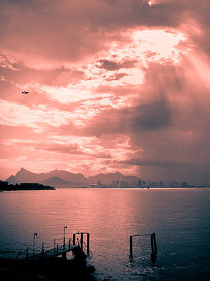 Photograph - Late Afternoon In Rio De Janeiro by Celso Diniz
