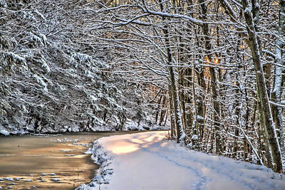 Late Afternoon In The Snow Art Print
