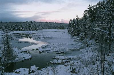 Art Print featuring the photograph Late Afternoon In Winter by David Porteus