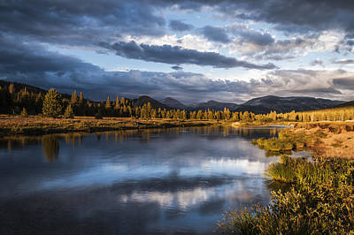 California Yosemite Photograph - Late Afternoon On The Tuolumne River by Cat Connor