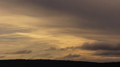 Photograph - Late Afternoon Sky 2 by Ronda Broatch