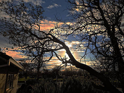 Photograph - Late Afternoon Sky by John Norman Stewart