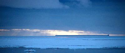 Late Afternoon Storm Antarctica Art Print