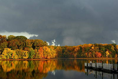Late Autumn Storm Art Print