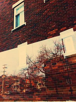 Photograph - Late Autumn Urban Scene by Valerie Rosen