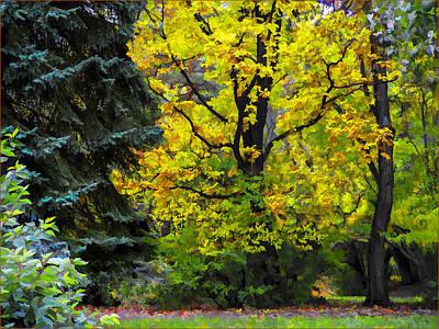Photograph - Late Autumn2 by Vladimir Kholostykh