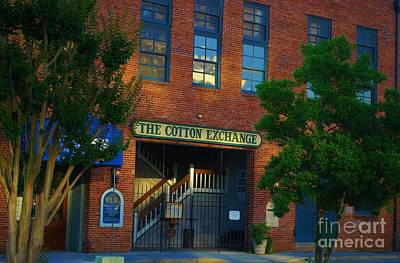 Photograph - Late Day Shadows On The Cotton Exchange by Bob Sample
