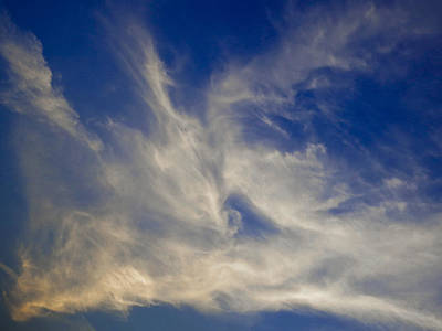 Photograph - Late Evening Sky by David Pyatt