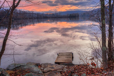 Late Fall Early Winter Art Print by Bill Wakeley