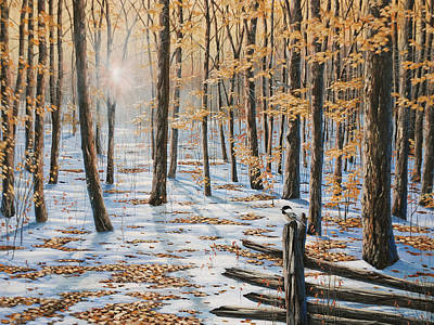 Late Fall Early Winter Art Print