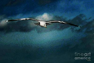 Digital Art - Late Flight by Dale   Ford