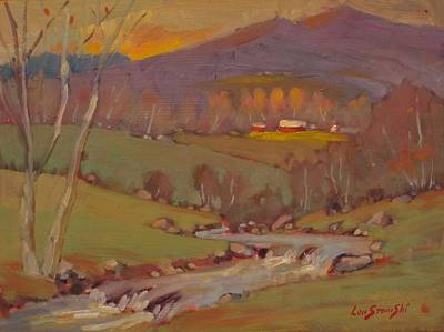 Painting - Late In The Season by Len Stomski