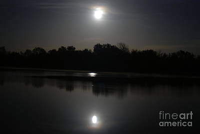 Photograph - Late Night At The Lake by Mark McReynolds