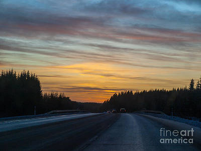 Photograph - Late Night Driving by Ismo Raisanen