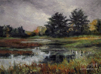 Painting - Late November Storm by Gregory Arnett