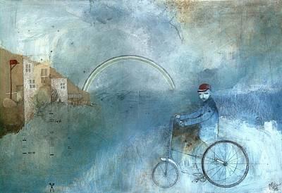Late Postman Original by Mils Gan
