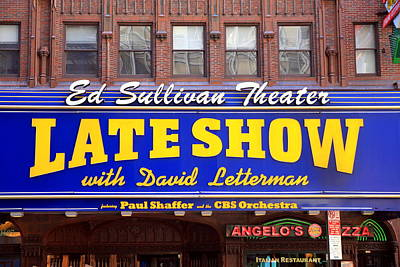 Late Show New York Art Print