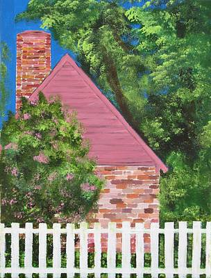 Colonial Williamsburg Painting - Late Summer In The Colony by Paula Peltier