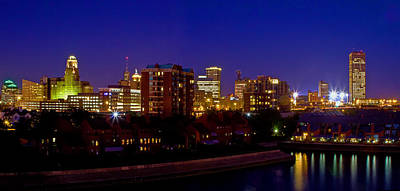 Photograph - Late Summer Night In Buffalo by Don Nieman