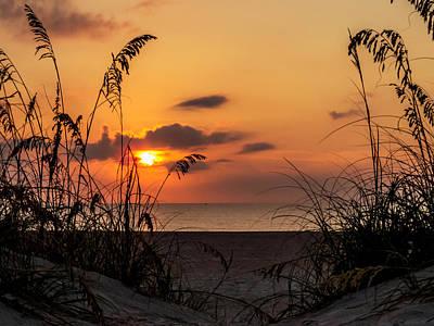 Florida Sunset Photograph - Late Sunrise by Zina Stromberg