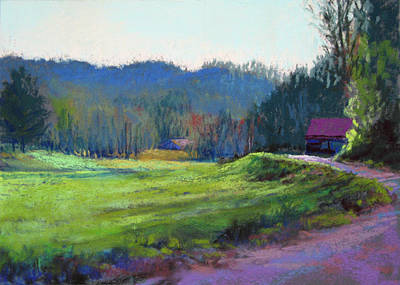 Late Valley Light Art Print by Marsha Savage