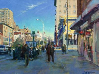 Late Winter Morning On Broadway Art Print