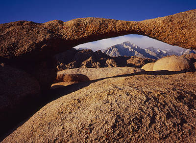 Photograph - Lathe Arch by Tom Daniel