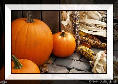 Mixed Media - Latin-autumno by Holley Jacobs