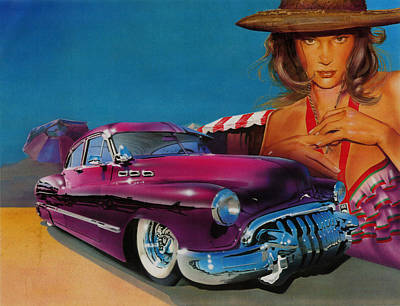 Chicano Painting - Latin Culture by Luis  Navarro
