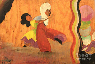 Painting - Latin Dancers 1938 by Art By Tolpo Collection