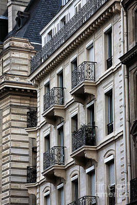 Photograph - Latin Quarter Balconies by John Rizzuto