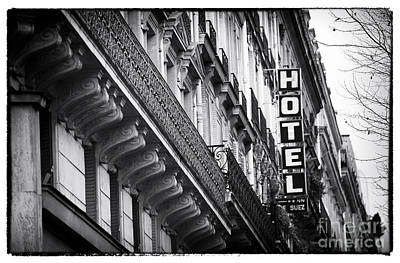 Photograph - Latin Quarter Hotel by John Rizzuto