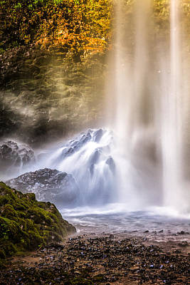 Photograph - Latourell Falls by Thomas Hall