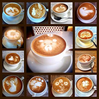 Photograph - Latte Art Whimsey  by Susan Garren