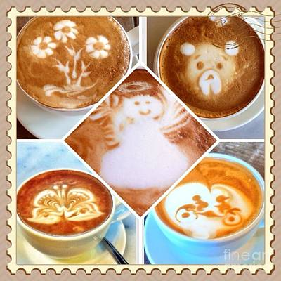 Photograph - Latte Fun  by Susan Garren